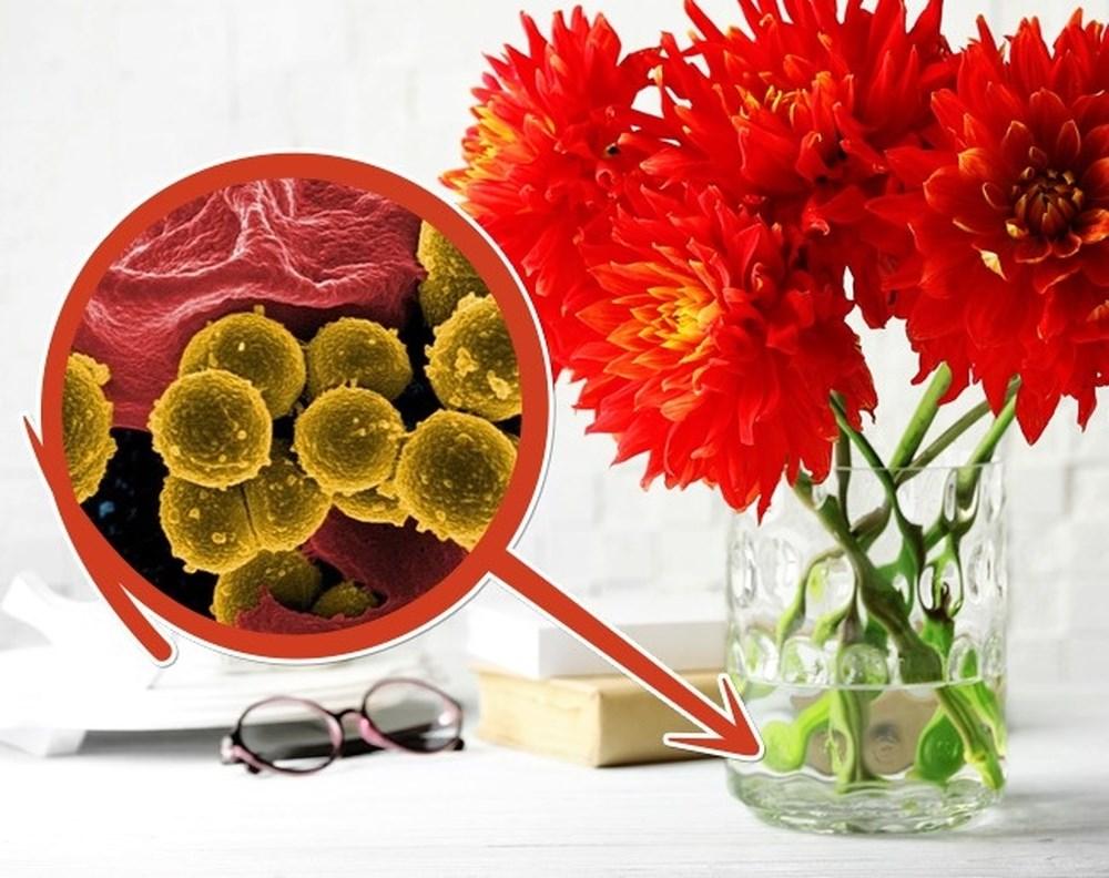 Dung dịch pha Aspirin nghiền nhỏ có thể giúp hoa tươi lâu hơn.