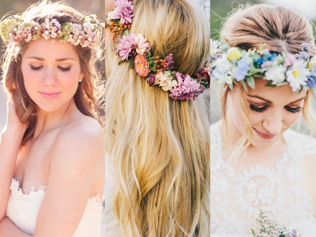Vòng hoa đội đầu giúp bạn gái xinh xắn, nổi bật hơn trong những bức ảnh.